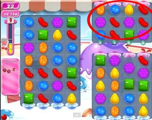 Candy Crush level 614