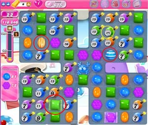 Candy Crush level 615