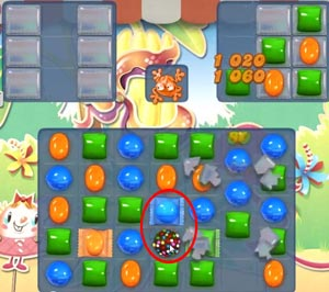 Candy Crush level 621
