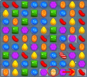 Candy Crush level 623