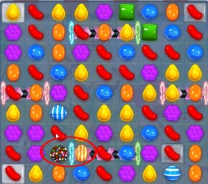 Candy Crush level 625