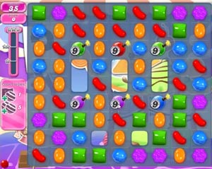 Candy Crush level 655