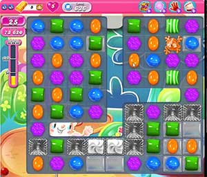 Candy Crush level 636