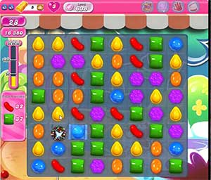 Candy Crush level 638