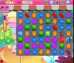 Candy Crush level 646