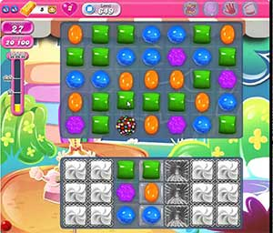 Candy Crush level 649