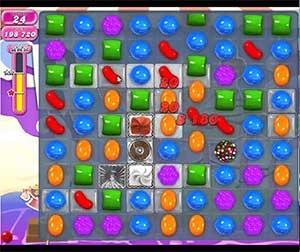 Candy Crush level 651