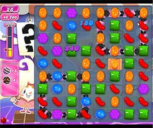 Candy Crush level 654