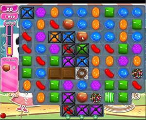 Candy Crush level 671