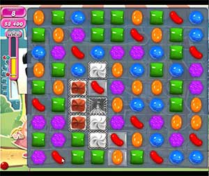 Candy Crush level 672