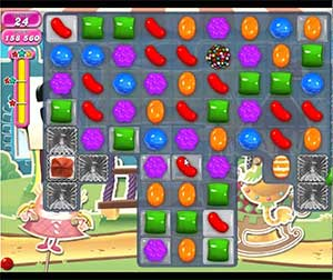 Candy Crush level 676
