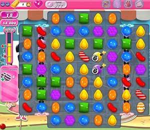 Candy Crush level 677