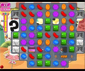 Candy Crush level 687