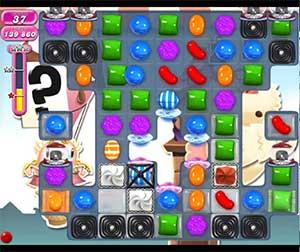 Candy Crush level 696