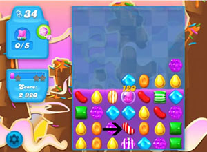 Candy Crush Soda Level 65 Cheats