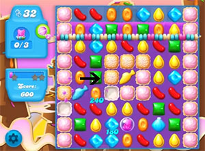 Candy Crush Soda level 69