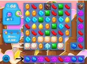 Candy Crush Soda level 72