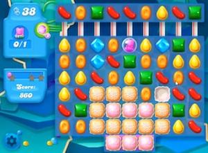 Candy Crush Soda level 55