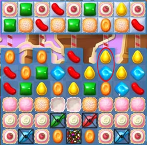 Candy Crush Soda level 74