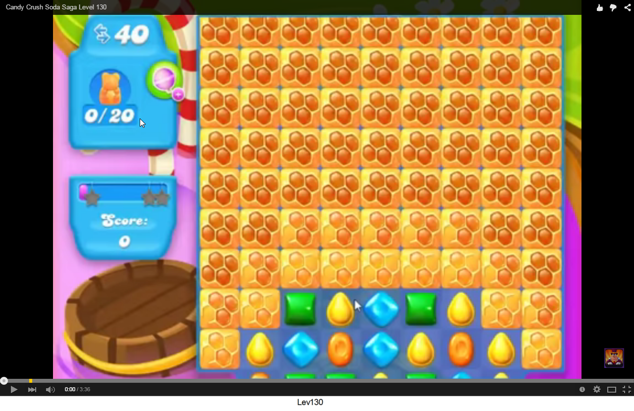 Candy Crush Soda level 130
