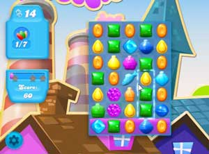 Candy Crush Soda level 1