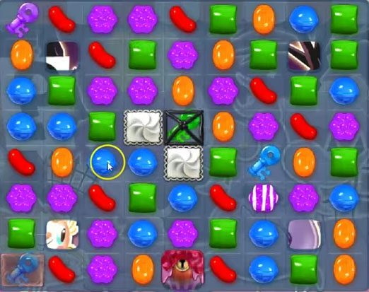 Candy Crush Soda level 711