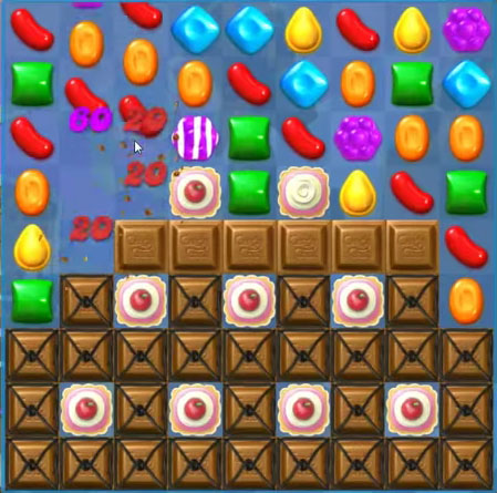 Candy Crush Soda level 75